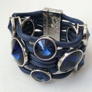 Jewelry - Chunky Blue Statement Bracelet